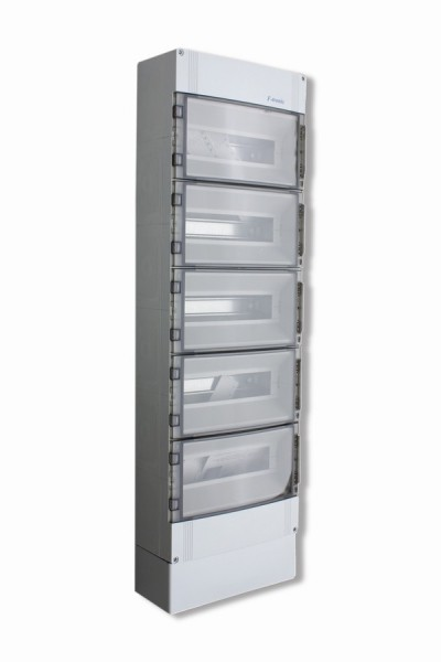 Kleinverteiler 5-reihig 70TE, IP65