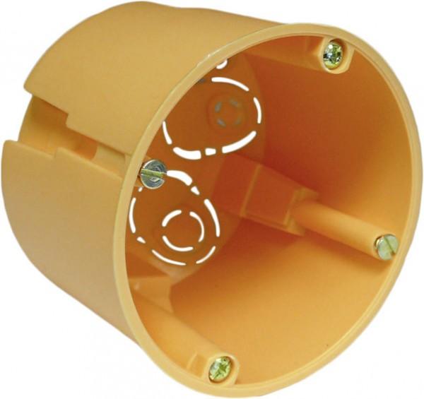Hohlwandschalterdose, tief, H 68mm