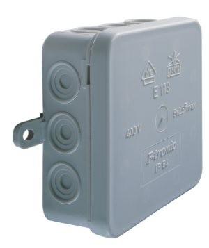 Abzweigdose IP54, 75x75 mm,