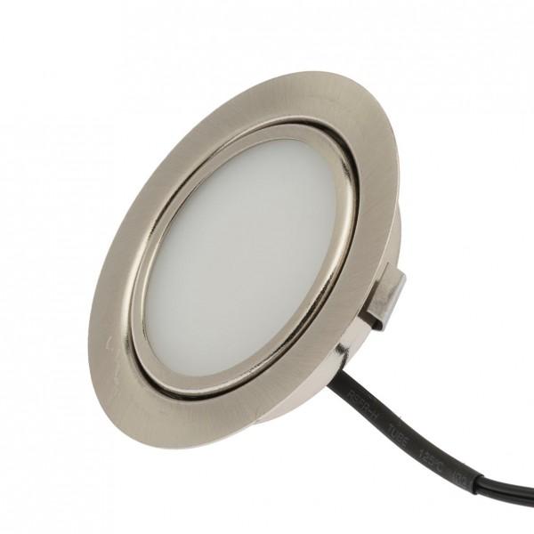 LED Möbeleinbaustrahler 3W, 12V, IP20,