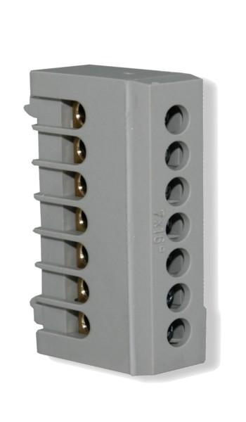 Neutralleiterklemme 7x16 mm²