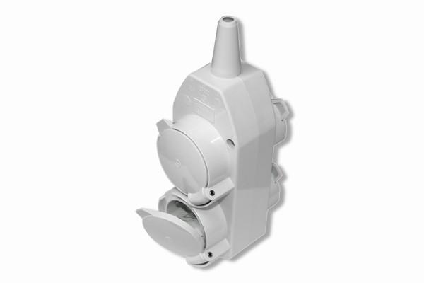 4-fach Kunststoff-Kupplung, IP44,