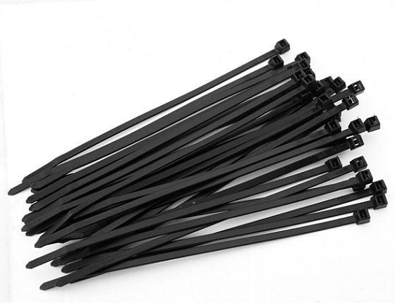 Kabelbinder schwarz, UV-beständig