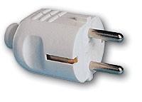 Schuko-Stecker PVC