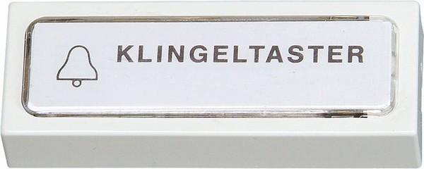 Klingel-Kontaktplatte, unbeleuchtet