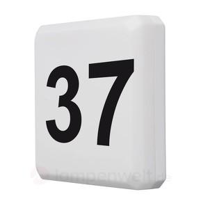 Hausnummernleuchte mit Dämmerungsschalter, IP44