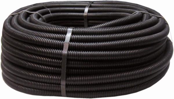 Isolierrohr flexibel schwarz