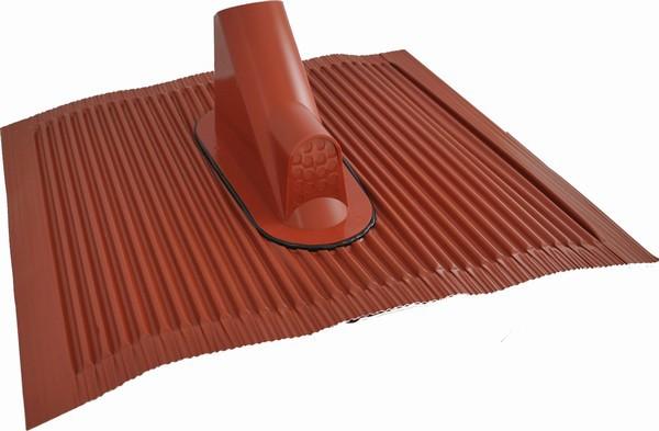 Dachdurchführung Alu mit Klebe-Set