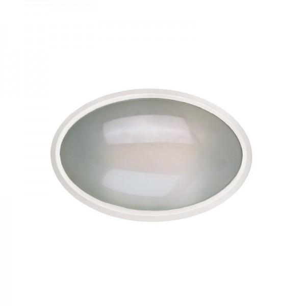 LED Außenleuchte oval IP65, 13W, 3000K,