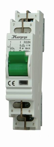 Kontroll-Ausschalter, 1-pol. 16A, 1 Schließer