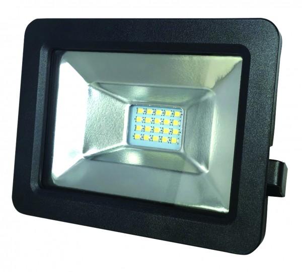 LED-Flutlichtstrahler IP65, in schwarz,