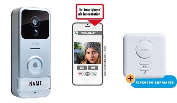 WLAN Video-Türsprechstation für Smartphone