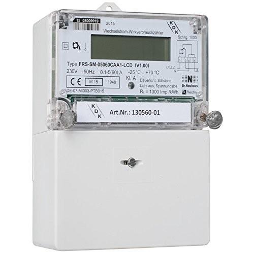 Elektronischer Wechselstromzähler 5(60)A,