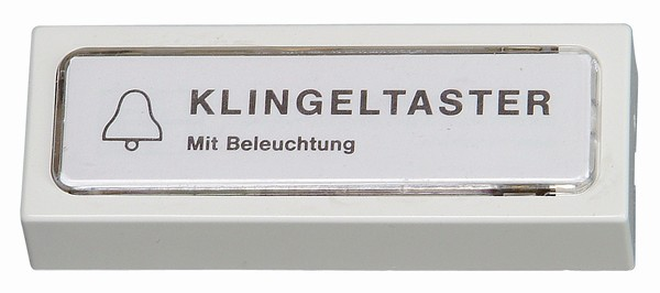 Klingel-Kontaktplatte, beleuchtet 1W