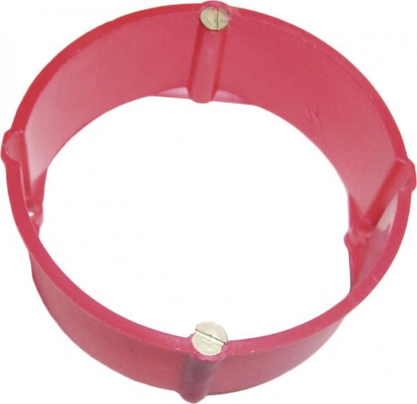 Ausgleichsring, rot, für Dose 60 mm